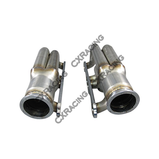 GT35 Twin Turbo DIY Kit For Small Block Chevy SBC GM 302 305 307 327 350