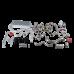 Turbo + Intercooler Kit For 74-81 Chevrolet Camaro Small Block SBC Engine