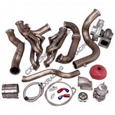 Turbo Kit For 82-92 Chevrolet Camaro SBC Small Block Header Manifold Downpipe