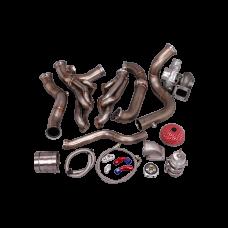 Turbo Kit For 82-92 Chevrolet Camaro SBC Small Block Header Manifold Downpipe