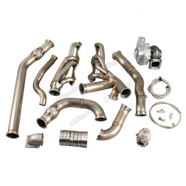 Turbo Header Kit For 68-72 Chevrolet Chevelle SBC Small