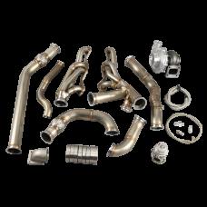 Turbo Header Kit For 68-72 Chevrolet Chevelle SBC Small Block Engine