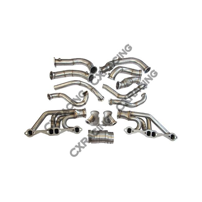 twin turbo intercooler kit for 63