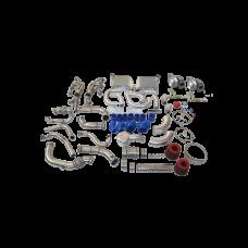 Twin Turbo Intercooler Kit For 63-65 Chevrolet Chevelle Nova SBC V8