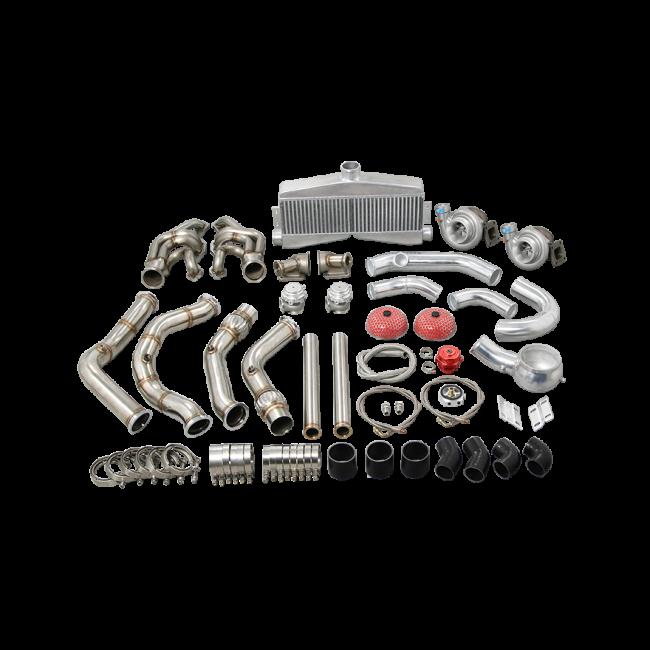 twin turbo manifold intercooler kit for 65