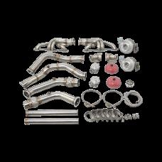 Twin Turbo Manifold Header Kit For 65-70 Chevrolet Impala SBC Small Block