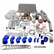 Turbo Intercooler Kit Engine Transmission Mounts Oil Pan For SR20DET 240Z 260Z stock Intake