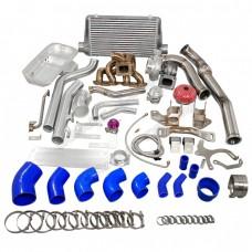 Turbo Intercooler Kit Engine Transmission Mounts Oil Pan For SR20DET 240Z 260Z
