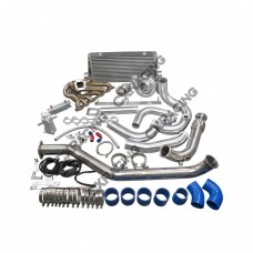 Turbo Downpipe Intercooler Kit For 1993-2002 Toyota Supra MK4 2JZ-GTE