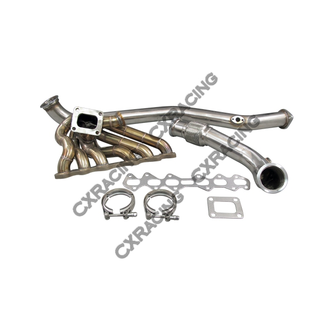 turbo kit manifold   downpipe for 93