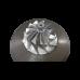 GT45 GT45R Ball Bearing Turbo Charger 80mm Billet Wheel T4 1.15 A/R + Oil Line + V-Band Flange