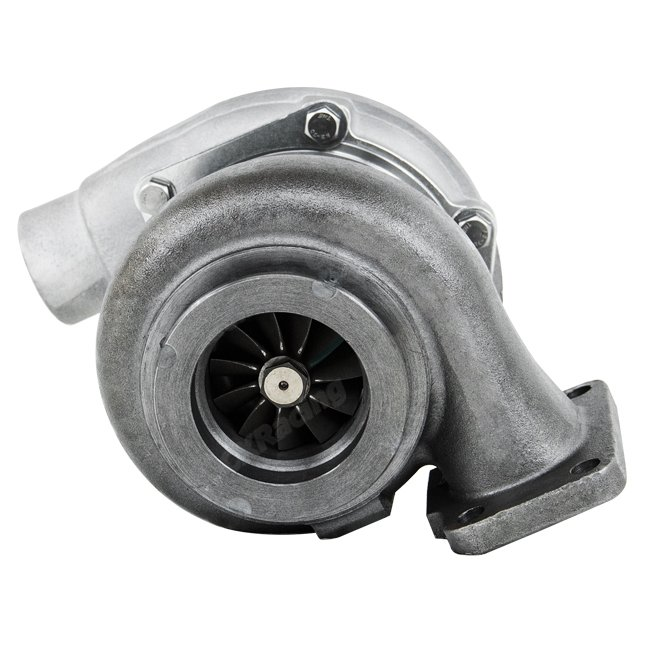 Turbocharger Turbine Wheel Manufacturing Process: T3 T04B Dual Ceramic Ball Bearing Turbo Charger Billet