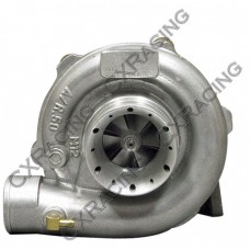 "New 3"" Air Inlet Design T3 T04E Turbo Charger , 50 AR Compressor, .63 AR Turbine, 5 Bolt Exhaust"