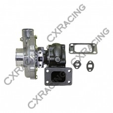 "T3 T04E Turbo Charger, .50 AR Compressor, .63 AR Turbine , 5 Bolt Exhuast, 3"" Inlet & 2"" Outlet"