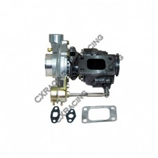 """T3 Turbo Charger Internal Wastegate 8PSI , 2.5"""" V-Band Exhaust, 2.75"""" Inlet & 2"""" Outlet"""