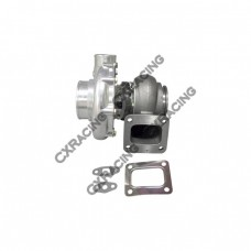 """T76 .81 A/R P Trim Ceramic Ball Bearing Turbo Charger T4 , 3"""" V-band Hot Side"""