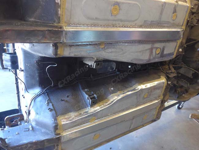 Floor Pan Support Brace For Datsun S30 240z 260z 280z 1 Pair