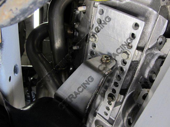 LS1 LS Engine Auto Transmission Swap Kit + Header For 240SX