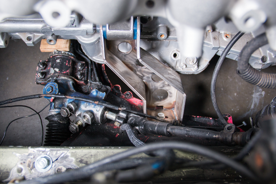 2JZ Engine Mount Subframe Spacer For RX-7 RX7 FC 2JZGTE Swap