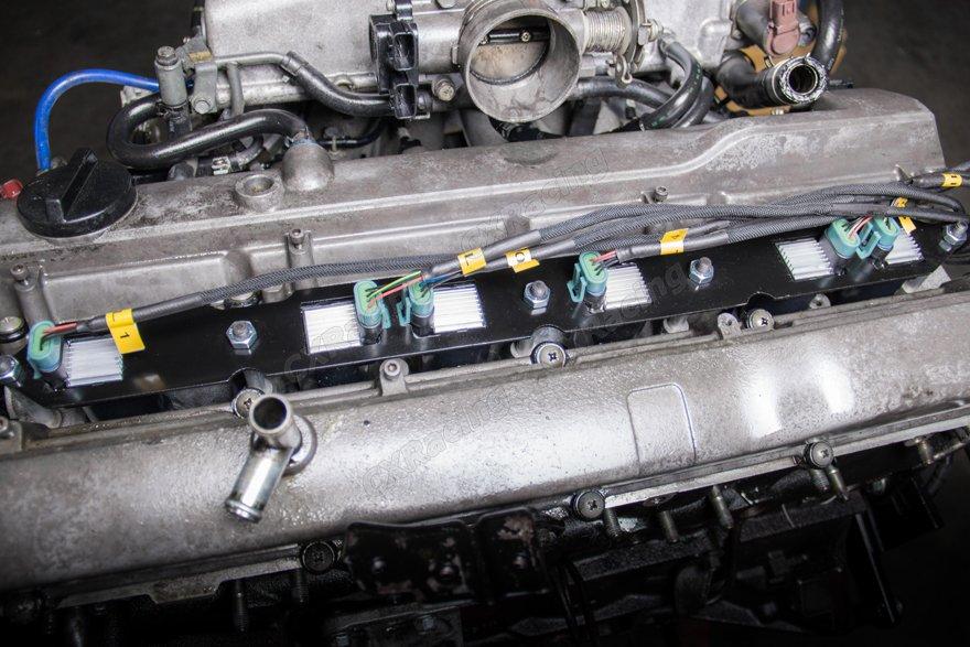 LQ9 LQ Coil Pack Aluminum Bracket Wire Harness For Nissan