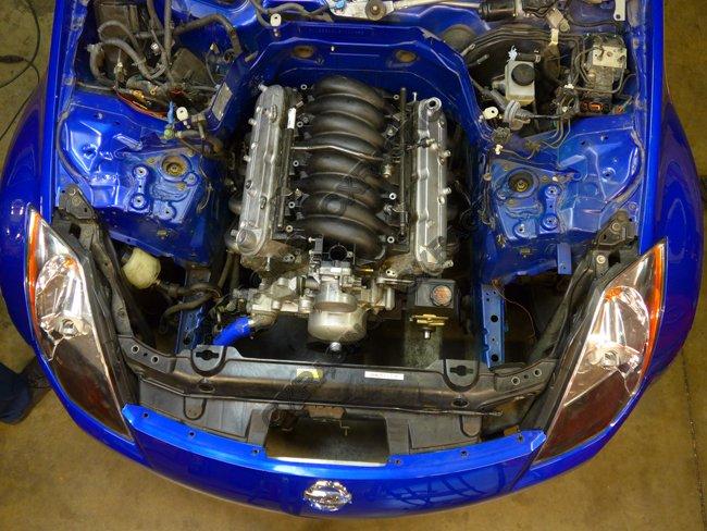 LS LS1 Performance Header Headers for Nissan 350Z swap