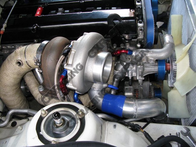 Intercooler Kit For Toyota Supra with 1JZ-GTE 1JZGE with