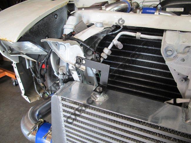 Intercooler Piping Intake Radiator HardPipe Fan Kit For 2JZ-GTE 2JZ
