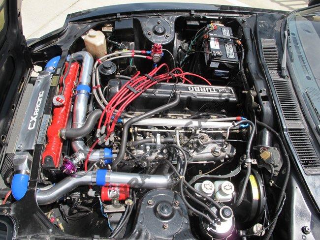 Intercooler + Piping Kit BOV Mounting Bracket for 78-83 Datsun S130