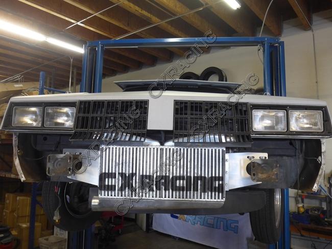 Twin Turbo Intercooler Piping Kit For G-Body LS1 LS Motor Cutlass