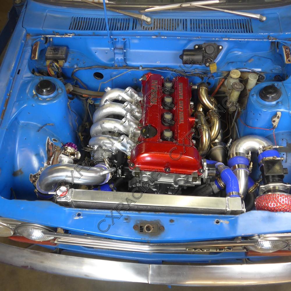 S13 SR20DET Intercooler Radiator Piping BOV Kit For Nissan ...