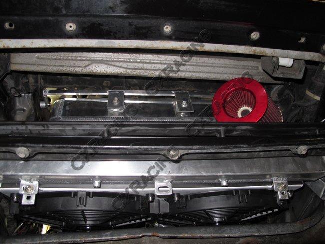 Intercooler + Radiator + Turbo Intake Filter BOV Kit For Z31 300ZX