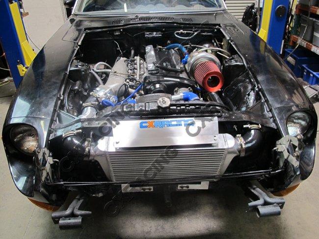 Front Mount Intercooler 27x11 75x3 For Lexus GS300 Toyota Cressida