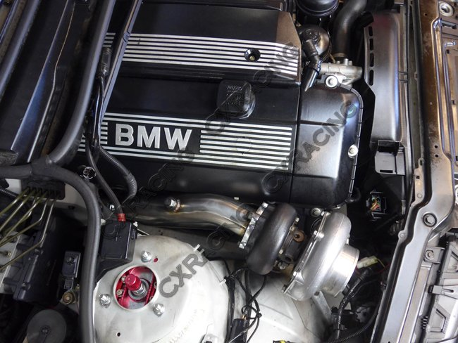 Bmw 325i For Sale >> T3 Top Mount Turbo Manifold For BMW E46 M52 M54 Engine NA-T No Cut