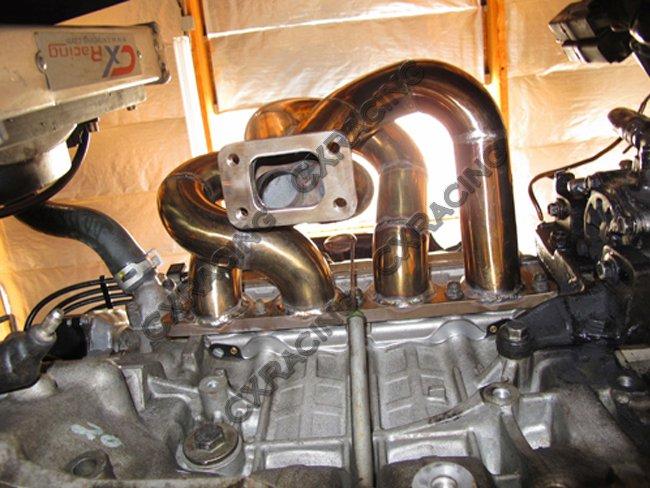 T28 Thick Manifold For Civic D15 D16 D-Series EK EG DC2