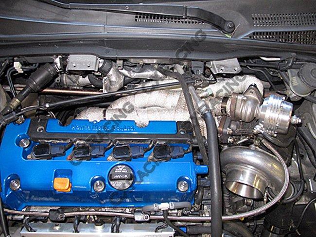 Turbo Manifold For Civic Integra DC5 RSX K20 Sidewinder T3 38mm