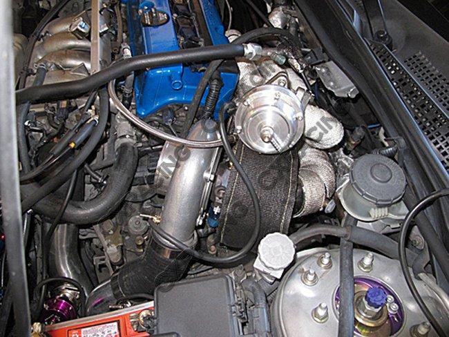 Turbo Manifold For Civic Integra Dc5 Rsx K20 Sidewinder T3