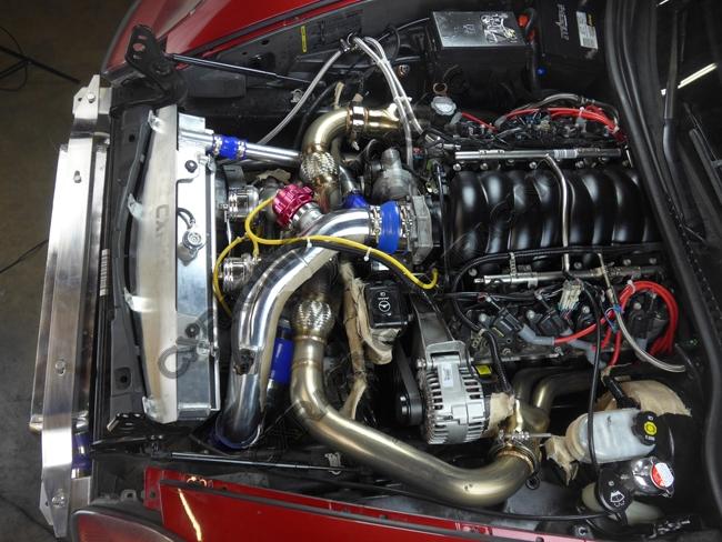 Turbo Manifold Header Kit For 05 13 Chevrolet Corvette C6