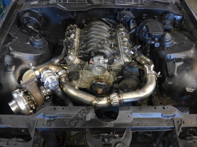 Turbo Header Manifold Downpipe Kit For 82 92 Camaro Ls1