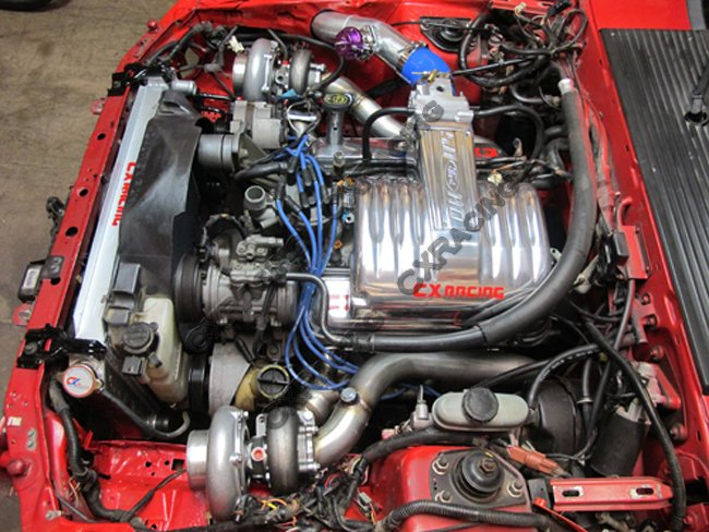 Fox Body Mustang Performance Parts >> Twin Turbo DIY Manifold Header For Ford Fox Body Mustang 5.0L