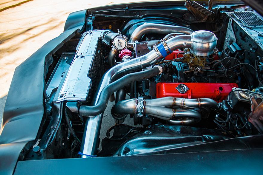 Turbo Manifold Header For 74 81 Chevrolet Camaro Sbc Small