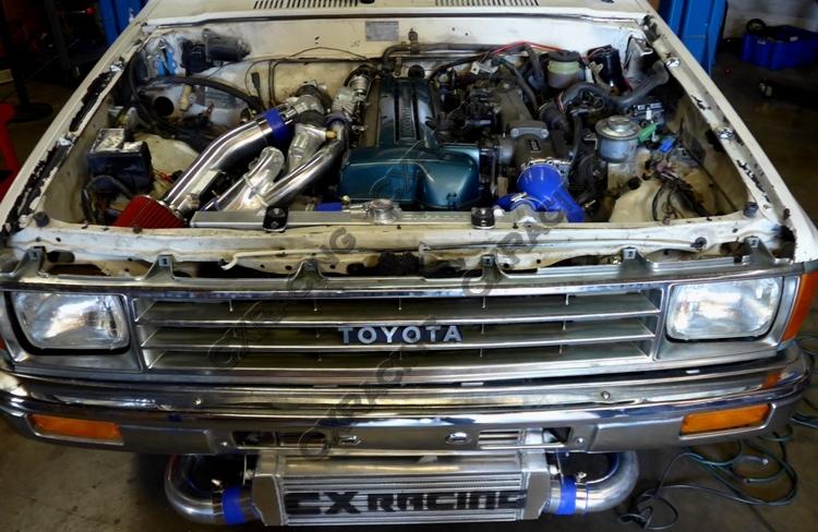 Aluminum Radiator for 83-88 Toyota Truck Hilux 1JZ 2JZ 2JZGTE Swap