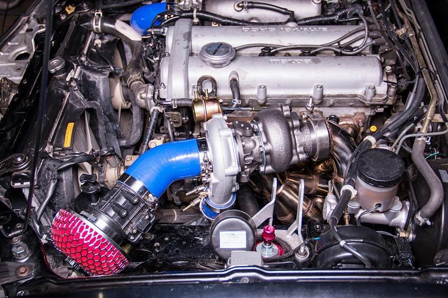 Mazda Miata Parts >> T3 Turbo Manifold Downpipe Intercooler For 99-05 Miata NB 1.8L Engine