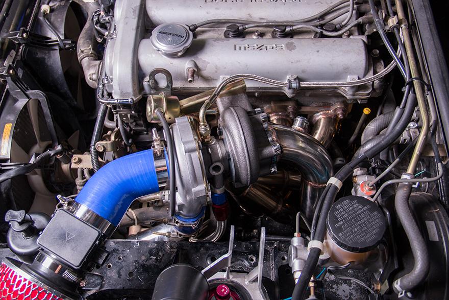 Mazda Miata Parts >> T28 Turbo Manifold Downpipe Intercooler For 99-05 Miata NB ...
