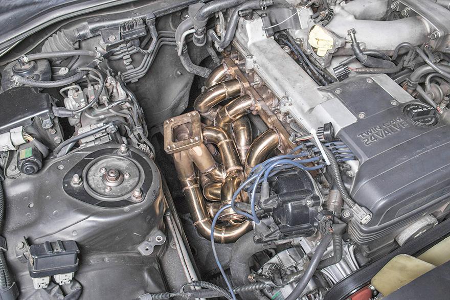 Turbo Manifold Downpipe Kit for 93-02 Toyota Supra MK4 2JZGE