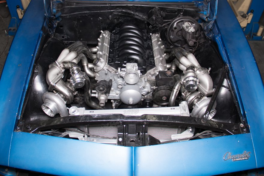 Turbo Kit For 67 69 Chevrolet Camaro With Ls1 Engine Swap