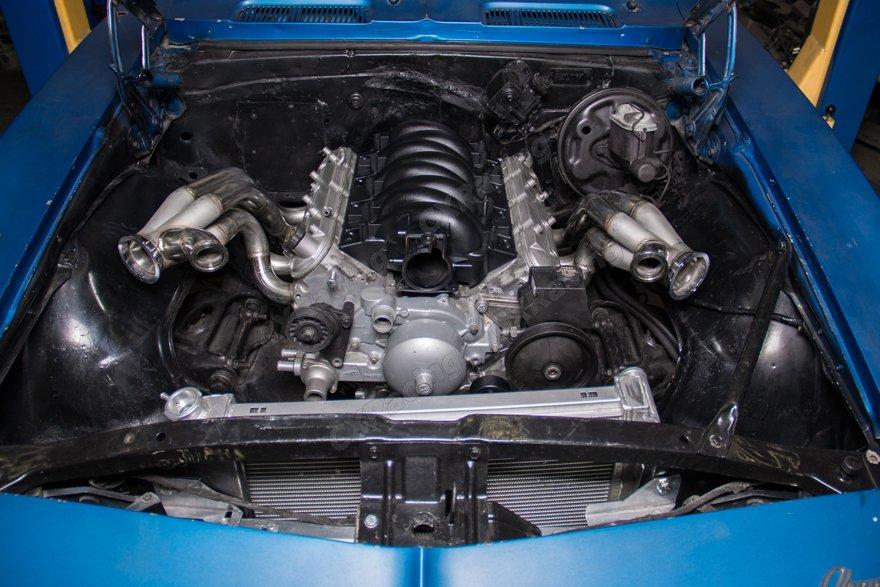 Twin Turbo Manifold Header Intercooler Kit For 67 69