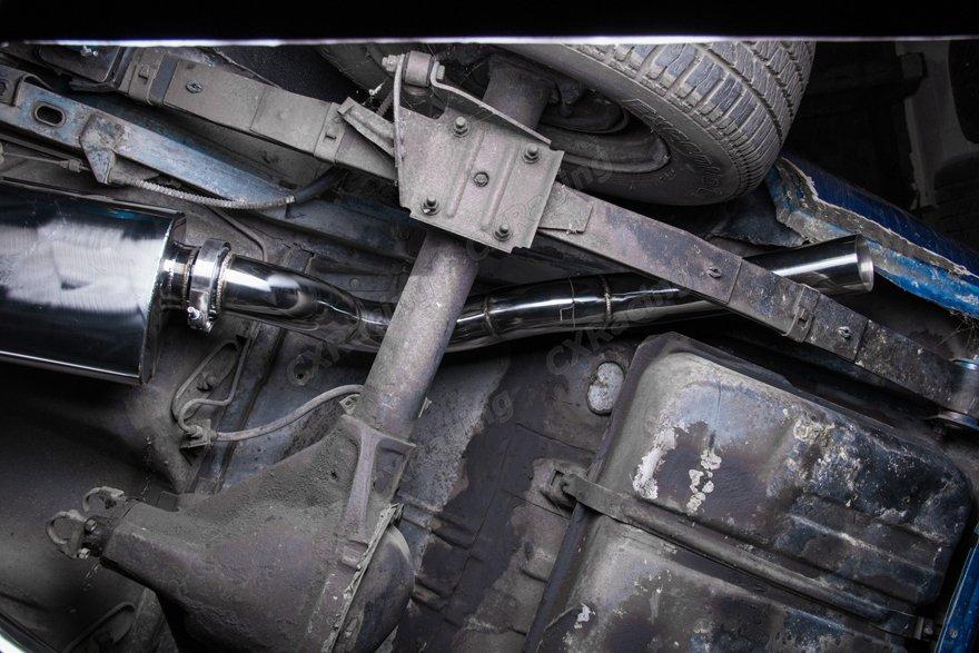 Twin Turbo Manifold Header Intercooler Exhaust Catback Kit