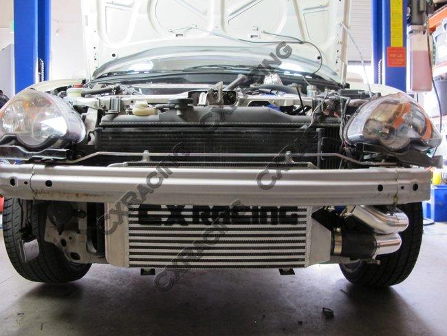 Turbo Intercooler Kit For Civic Integra DC K RSX Sidewinder Manifold - Acura rsx type s turbo kit