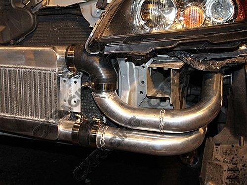 Turbo Intercooler Kit For Acura TSX K TE Manifold Downpipe - Acura tsx turbo