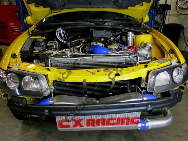 Twin Turbo Intercooler Kit For 04 06 Pontiac Gto Holden